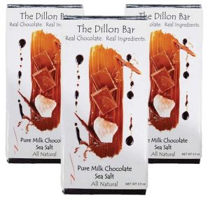 The Dillon bar milk chocolate.