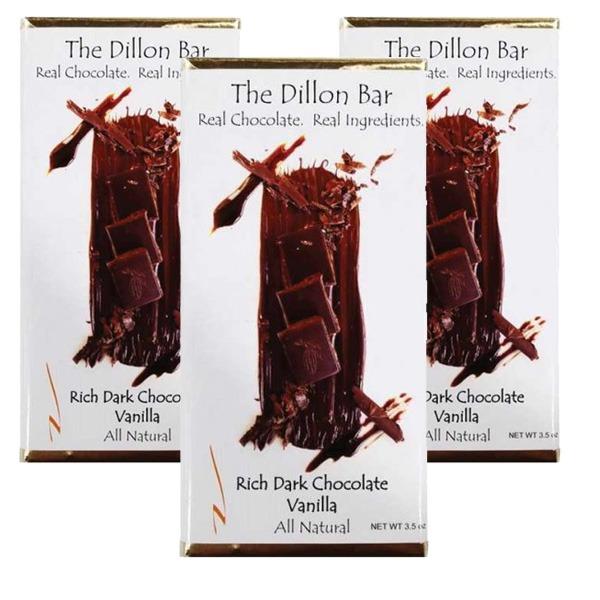 The Dillon bar dark chocolate.
