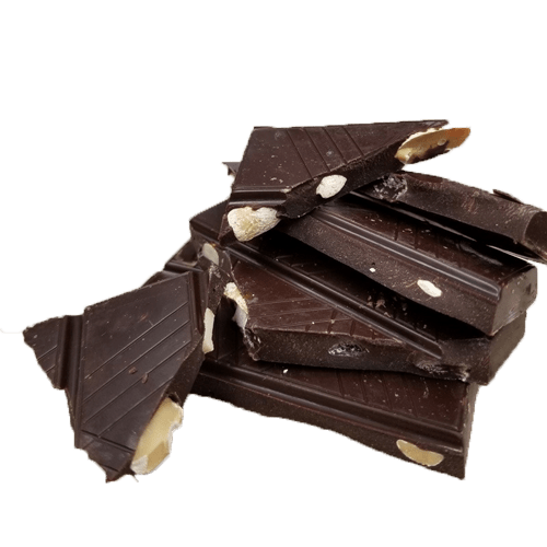 Dark Chocolate with nuts.