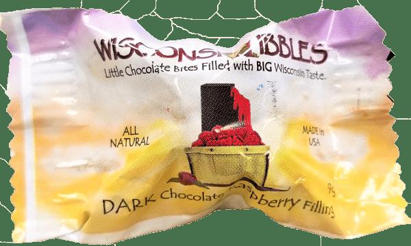 Wisconsin Nibbles chocolates.